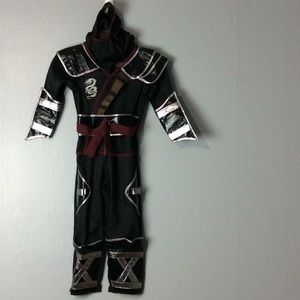 Black Ninja Teetot Child's Costume Sz 5-6
